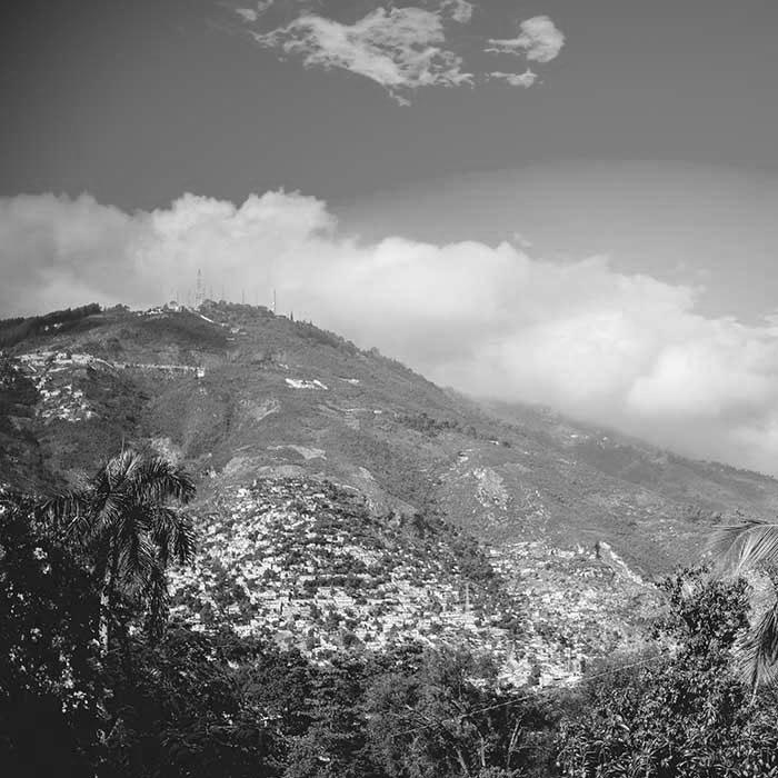 Mountain BW