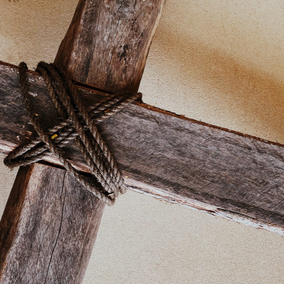 Wooden Rugged Cross